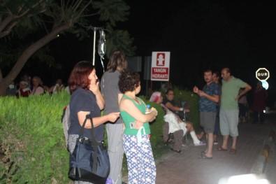 Akdeniz Üniversitesi Hastanesinde Korkutan Yangın