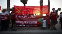 FILISTIN - Bahreyn'deki Çalıştay Tel Aviv'de Protesto Edildi