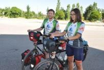 ERMENISTAN - Bisikletle Dünya Turuna Çıkan İngiliz Arkadaşlar, Beyşehir'de