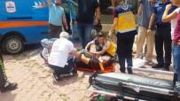 Kargo Aracı İle Cip Çarpıştı Açıklaması 2 Yaralı