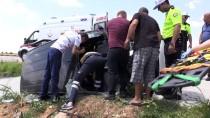 Kırklareli'nde Trafik Kazası Açıklaması 3 Yaralı