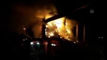 Konya'da Çiftlik Yangını