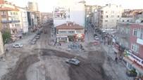 KANALİZASYON - Lale Caddesindeki Altyapı Çalışmaları Tamamlandı
