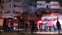 Niğde'de İş Yerinde Başlayıp Apartmana Yayılan Yangın Söndürüldü