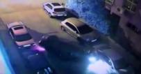 (Özel) İstanbul'da Yol Verdiği Sürücüyle Tartıştı, Araçlara Çarparak Takla Attı