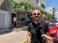 (Özel) Sultanbeyli'de Emlak Ofisinin Kurşunlandığı Anlar Kamerada