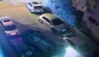 Yol Verdiği Sürücüyle Tartıştı, Araçlara Çarparak Takla Attı