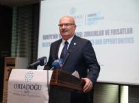 Zeytin Dalı Harekatı - ATO Başkanı Baran 'Suriye'nin Yeniden İnşası Çalıştayı'na Katıldı
