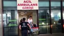Edirne'de Düzensiz Göçmenleri Taşıyan Araç Kaza Yaptı