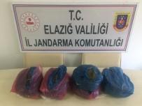 Elazığ'da 6 Kilo 650 Gram Uyuşturucu Elegeçirildi