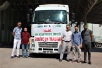 Elazığ'dan Suriye'ye 112'İnci Yardım Tırı Yola Çıktı