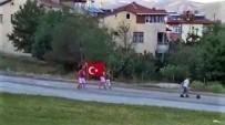 Miniklerin Türk Bayrağı İle Duygulandıran O Anları