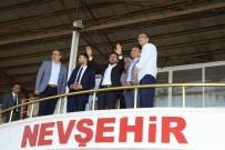 Nevşehir Belediyespor'un Maçlarını Oynayacağı Gazi Stadyumunda İnceleme
