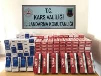 KARAKURT - Sarıkamış'ta 2 Bin 800 Paket Kaçak Sigara Ele Geçirildi