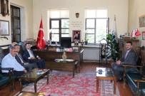 Vali Aktaş, Ürgüp Belediye Başkanı Aktürk'ü Ziyaret Etti