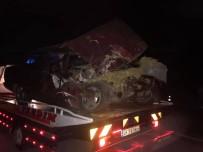 Yenipazar'da Trafik Kazası