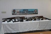 Amasya Merkezli Silah Kaçakçılığı Operasyonu Açıklaması 16 Gözaltı