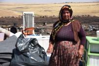 Anız Yangınında Eşyaları Kül Olan Aileye Yardım