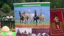 KÜLTÜR GÜNLERİ - Büyük Türk Şairi Mahtumkulu Firakı'nın Heykeline Çelenk Bırakıldı
