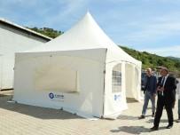 Canik Belediyesinden Taziye Çadırı Uygulaması