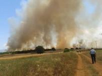 Isparta'da Makilik Alanda Yangın