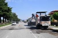 İstanbul Caddesi'ndeki Üniversite Yolunda Çalışmalar Başladı