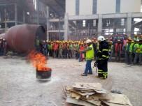 Kilis'te İtfaiyeden Yangın Eğitimleri
