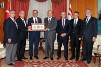 BİLİMSEL ARAŞTIRMA - KKTC Başbakanı Tatar, Türkiye'den Gelen Heyeti Kabul Etti