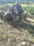 Kontrolden Çıkan Traktör Devrildi Açıklaması 2 Yaralı