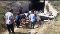 Konya'da Otomobil Köprüden Düştü Açıklaması 6 Yaralı