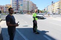 Niğde'de Drone İle Trafik Kontrolü