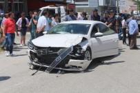 YUSUF ASLAN - Tekirdağ'da İki Araç Çarpıştı Açıklaması 3 Yaralı