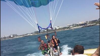 Filistinli turist 50 metreden denize çakıldı