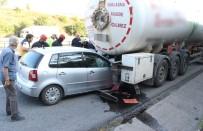 TEM Otoyolu'nda Feci Kaza Açıklaması 1 Ölü, 1 Yaralı