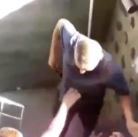 Eli Bıçaklı Saldırgan Kendi Yengelerine Saldırdı