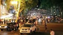 TUTUKLAMA KARARI - Gürcistan'ın Başkenti Tiflis'teki Protestolar