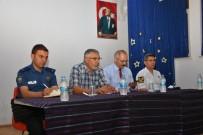 İnönü'de İlçe Güvenlik Ve Muhtarlar Toplantısı Yapıldı