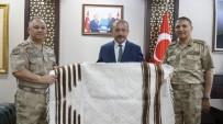 Jandarma Genel Komutanlığı Lojistik Hizmetler Başkanı Koçum Siirt'te