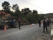 Komşusunun Traktörüne Bindi, Düşerek Hayatını Kaybetti