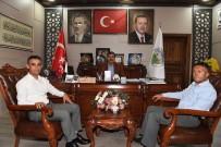 AHMET KOÇ - Ulaştırma Memur Sen'den Başkan Asya'ya Ziyaret