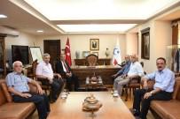Alevi Kanaat Önderleri Rektör Turgut İle Bir Araya Geldi