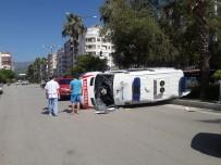 Antalya'da Ambulans Kazası Açıklaması 1 Yaralı