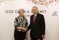 OSAKA - Cumhurbaşkanı Erdoğan, İngiltere Başbakanı May İle Görüştü
