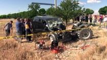Kahramanmaraş'ta Trafik Kazası Açıklaması 2 Ölü, 1 Yaralı