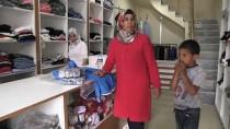 PKK'lı Teröristlerin Yaktığı İş Yeri 'Hayır Çarşısı' Oldu