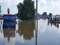SIBIRYA - Rusya'da Sel Felaketi Açıklaması 2 Ölü