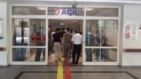 Siirt'te Motosiklet Bariyere Çarptı Açıklaması 1 Yaralı
