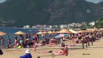 ORTAKENT - Turizm Merkezlerindeki Plajlarda Yoğunluk