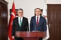 Val Soytürk'den Mevkidaşı  Adıyaman Valisi Pekmez'e Ziyaret