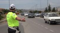 43 İlin Geçiş Noktasında Trafik Yoğunluğu